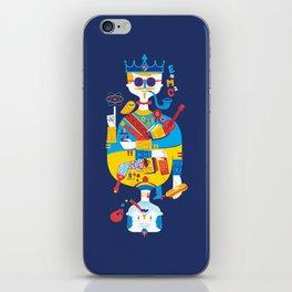 Jack of Smarts (Knave of Slobs) iPhone Skin