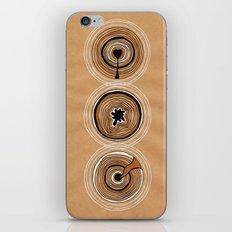 Three Circles iPhone Skin
