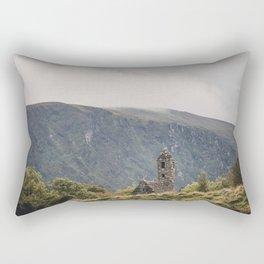 Glendalough Mountain Monastery Rectangular Pillow
