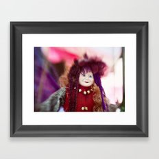 Gypsy Lady Framed Art Print