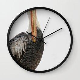 Pelícano Minimal Wall Clock