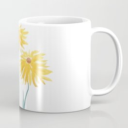 three yellow flowers Coffee Mug