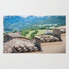 Umbrian landscapes Rug