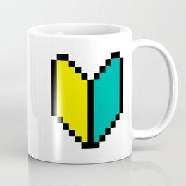 8 Bit Pixel Wakaba / Shoshinsha Mark Coffee Mug