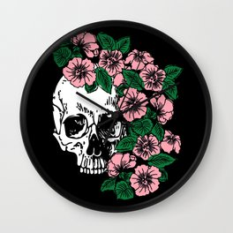 The Flourishing Death Wall Clock