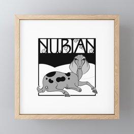 Nouveau Nubian Framed Mini Art Print