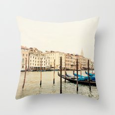 Beautiful Venice Throw Pillow