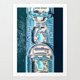 Cruise Art Print