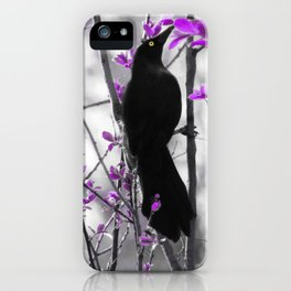 The Grackle iPhone Case