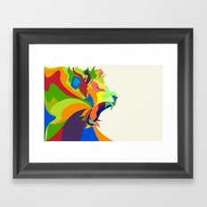 Like the Jungle Framed Art Print
