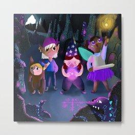 Children's book adventure Metal Print