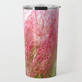 Pink Costa Rican Flower Travel Mug