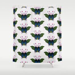 Beetle #1 Color Shower Curtain