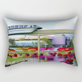 Epcot Icons Rectangular Pillow