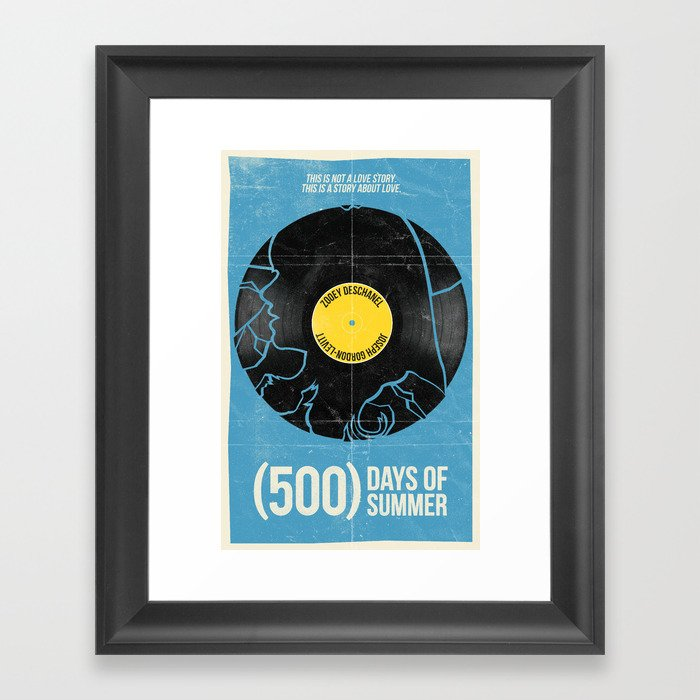 (500) Days of Summer Framed Art Print by williamhenry ...