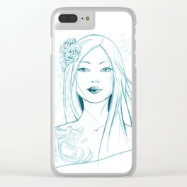 Iona Clear iPhone Case