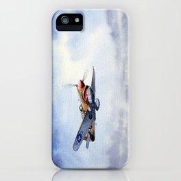 P-40 Warhawk Aircraft iPhone Case