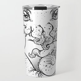 Cthulhu (B&W Version I) Travel Mug
