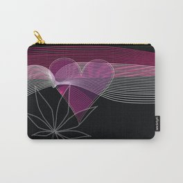 I Heart Cannabis Carry-All Pouch