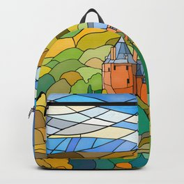 Castell Coch Reflections Backpack