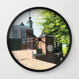 The Royal Observatory in Greenwich London Wall Clock