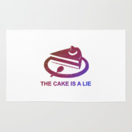 Portal - The cake is a lie Rug