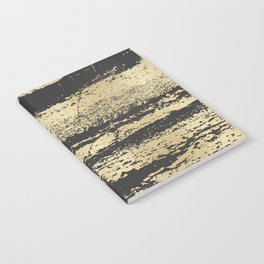Marble Black Gold - Save Me Notebook