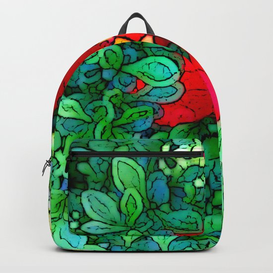Shy Tulip Hiding Backpack