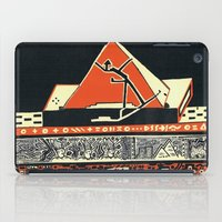 pyramid iPad Cases featuring pyramid by pcart