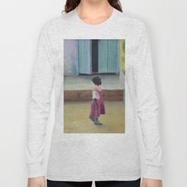 African Girl Long Sleeve T-shirt