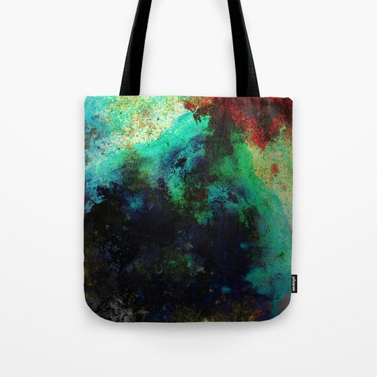 The Life In Your Veins - Abstract, acrylic, textured painting Tote Bag
