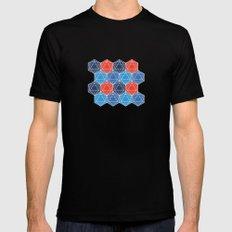 BP 80 Hexagon MEDIUM Black Mens Fitted Tee