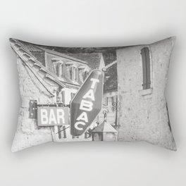 Bar Tabac - Travel Photography Rectangular Pillow