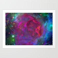 Cosmic Storm Art Print