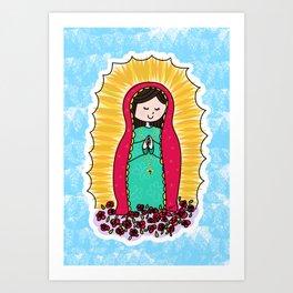 Virgen de Guadalupe by Paisley In Paris™ Art Print