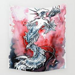 Mermaid Riot Wall Tapestry