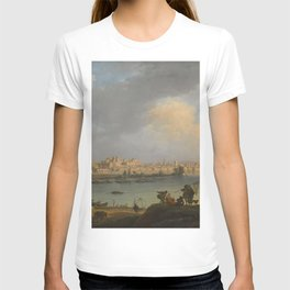 Claude-Joseph Vernet - View of Avignon from the Right Bank of the Rhone near the Tour Philippe-le-Be T-shirt