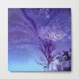 Nature Slick Metal Print