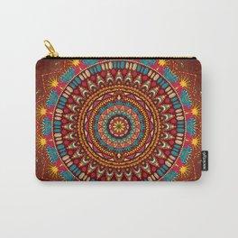 Crystalline Harmonics - Tribal Carry-All Pouch