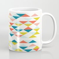colombia Mugs featuring Colombia by Menina Lisboa