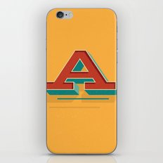 A is for... Anything iPhone & iPod Skin