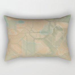 future fantasy steppe Rectangular Pillow