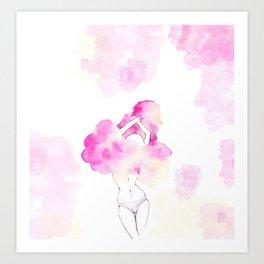 Undress your body Art Print