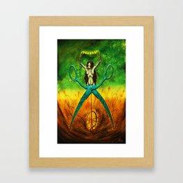 The Rape Framed Art Print