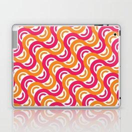 refresh curves and waves geometric pattern Laptop & iPad Skin