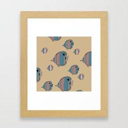 Butterfly Fish Framed Art Print
