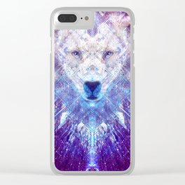 Ursa Major The Star Bear Clear iPhone Case