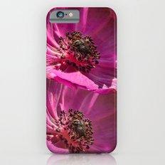 Pink Poppies  iPhone 6s Slim Case
