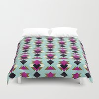 solid Duvet Covers featuring Nu Solid by Leandro Pita