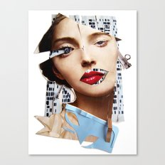 Make me beautiful | Collage Canvas Print